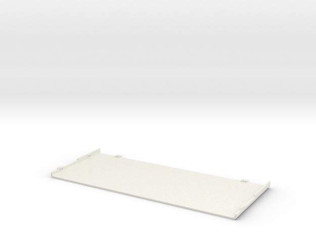 Nintendo New 3DS Coverplate in White Natural Versatile Plastic