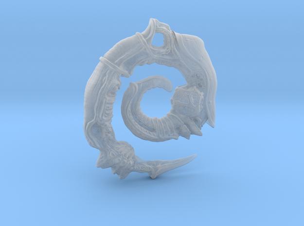 Alien Swarm Earring in Smoothest Fine Detail Plastic