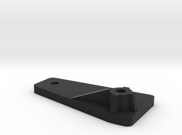 Extension CC01 to D90 Gelande 1:10 3/3 in Black Natural Versatile Plastic