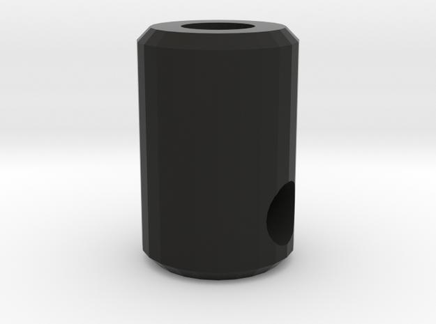 Coupling for drive shaft CC01 to D110 Gelande 1:10 in Black Natural Versatile Plastic
