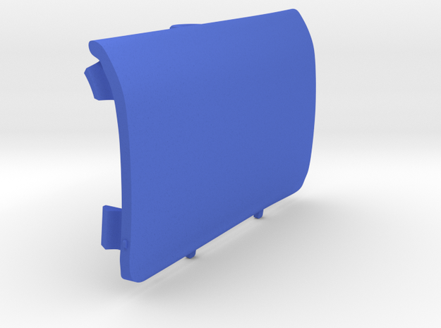 Rear-Right Saab Jack Point Cover in Blue Processed Versatile Plastic