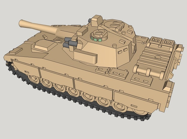 1/350 CV90 IFVs (4pcs) in Smooth Fine Detail Plastic