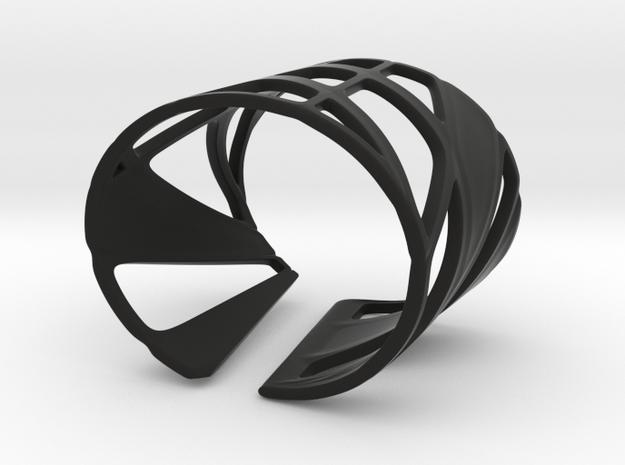 Trouble (size XS) in Black Natural Versatile Plastic