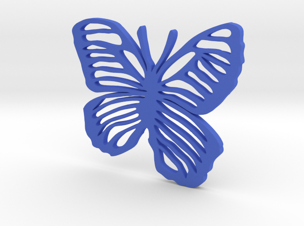 Life is Strange Butterfly in Blue Strong & Flexible Polished