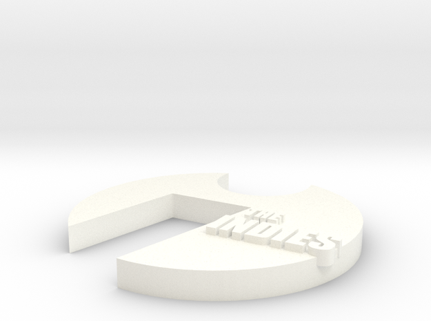 INDIES in White Processed Versatile Plastic