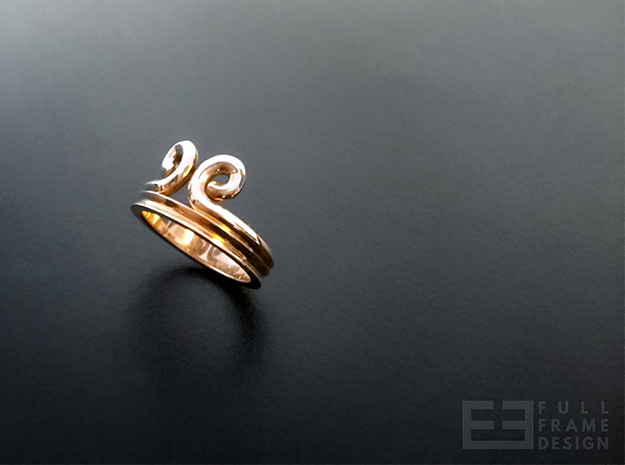 """Sun Wukong """"Monkey King"""" Ring (Multiple Sizes) in Polished Bronze"""