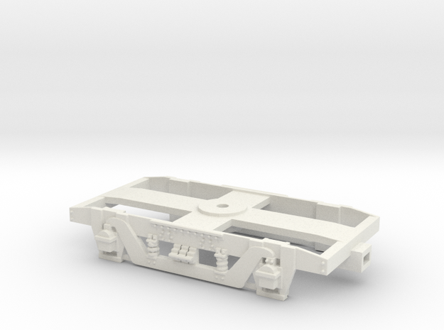 GWR 9' American Bogie (SRMW Fit) in White Natural Versatile Plastic