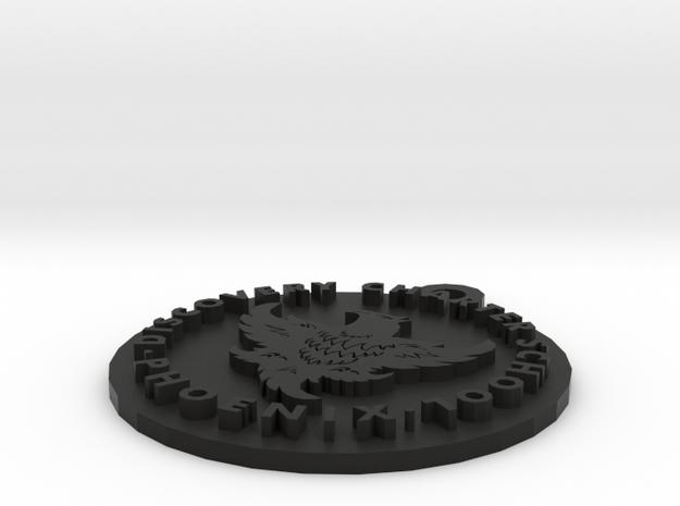 DCS Phoenix Logo Pendant 3d printed