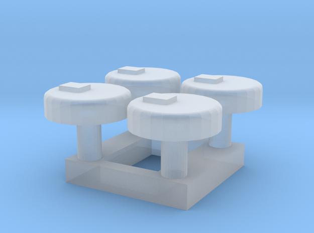 N-01 N Gauge (1:148) Station Help Points in Smooth Fine Detail Plastic