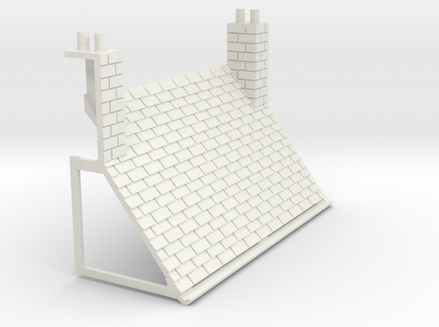 Z-76-lr-stone-l2r-level-roof-bc-bj in White Natural Versatile Plastic
