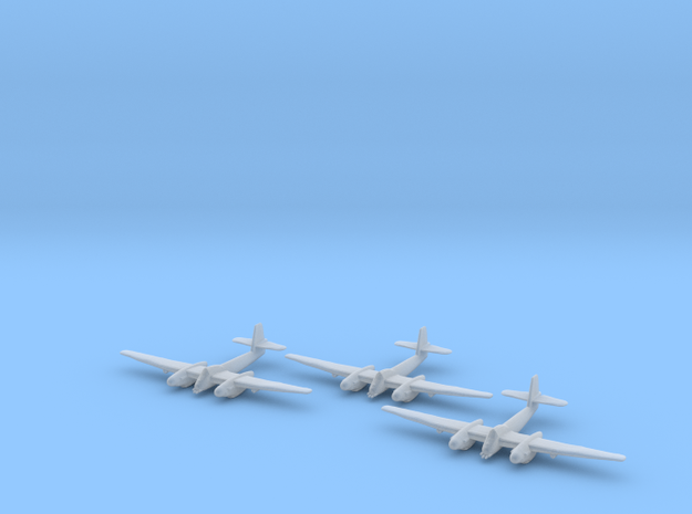 Westland Welkin with bombs 1:285 x3 FUD in Smooth Fine Detail Plastic