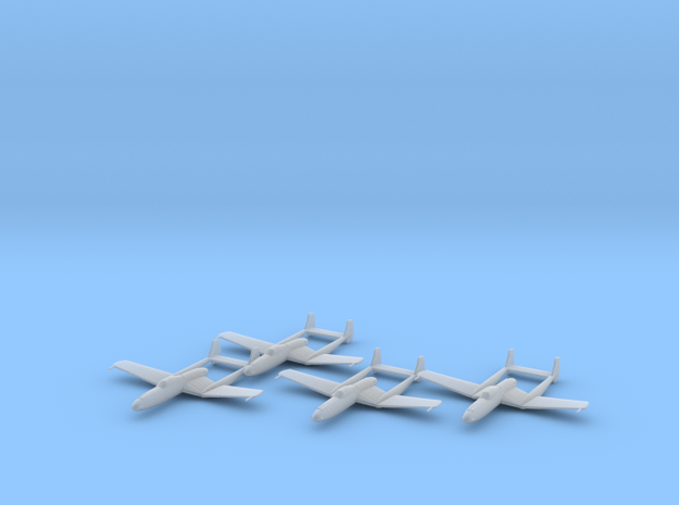 Vultee XP-54 'Swoose Goose' 1:200 x4 FUD in Smooth Fine Detail Plastic