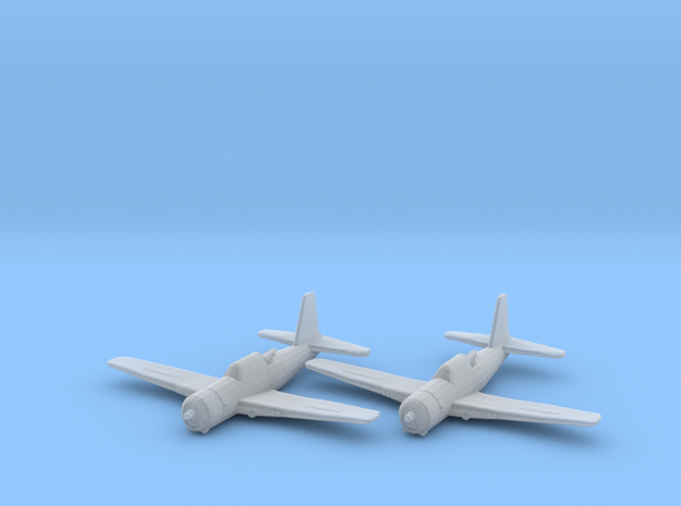 Vultee A-35 'Vengeance' 1:200 x2 FUD in Smooth Fine Detail Plastic