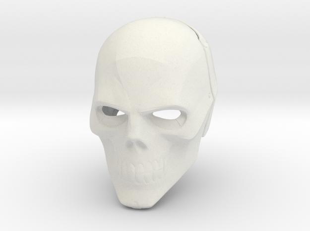 Blackmask Helmet (Arkham Origins & Arkham Knight) in White Strong & Flexible