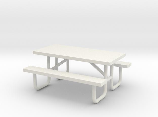 MOF Picnic Table Metal 6ft(1)[72-1]