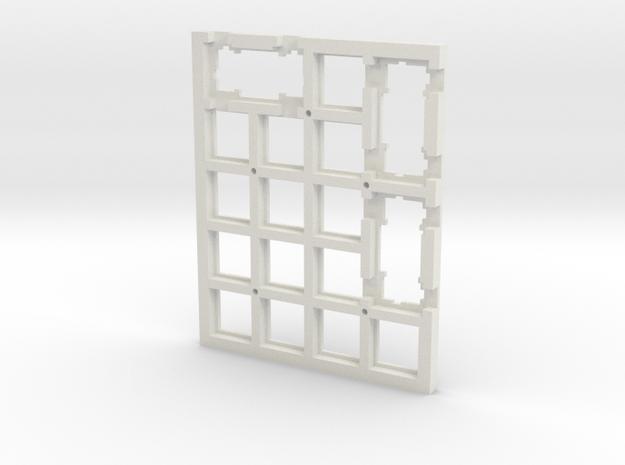 Keypadkevfinal in White Natural Versatile Plastic