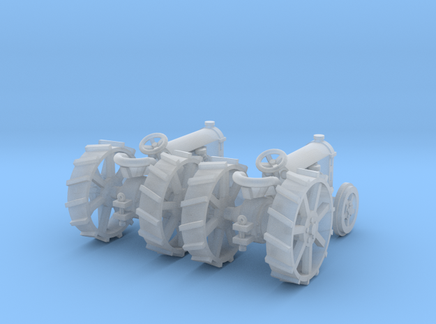2 Fordson Tractors TT Scale in Frosted Ultra Detail