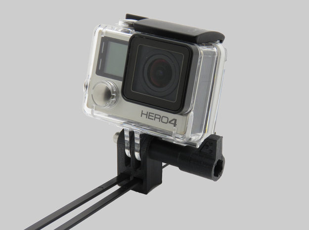 HEROType A (0°) - GoPro Bike Motorbike Mount Unive in Black Natural Versatile Plastic