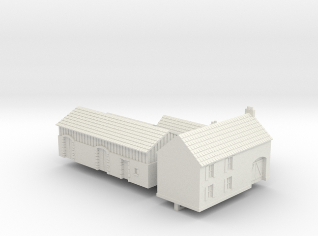 1:350 Two farm houses.