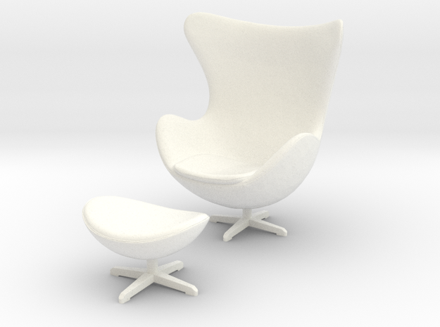 1:24 Egg Chair - Arne Jacobsen