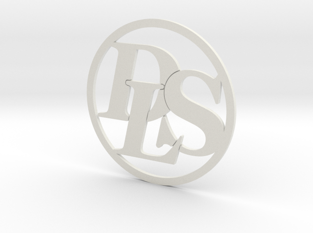 DLS Logo in White Strong & Flexible