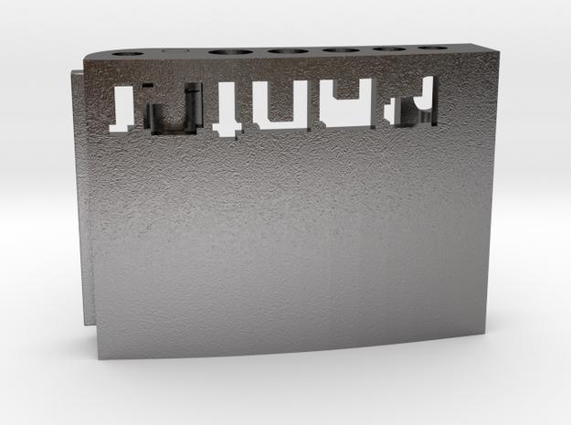 Custom Belt Buckle - Metals (branded | reduced) 3d printed