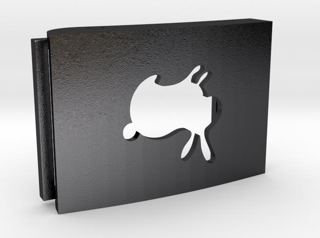 Custom Belt Buckle - Plastic (branded | reduced) 3d printed