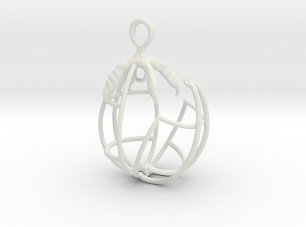 EggClaw Cage 4 in White Natural Versatile Plastic