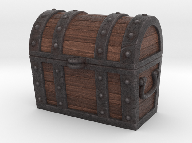 Chest - Large in Full Color Sandstone