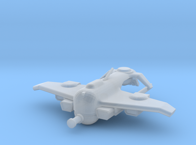 Space Commie Mako Fighter in Smooth Fine Detail Plastic