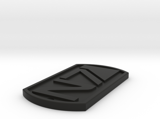 N7 Dogtags in Black Strong & Flexible