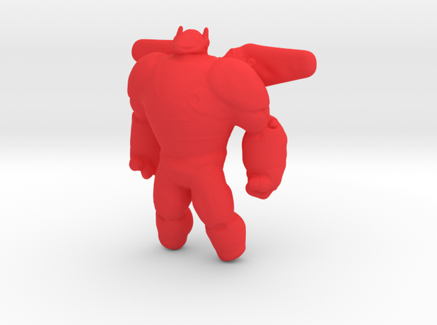 Baymax - Big Hero 6 in Red Processed Versatile Plastic