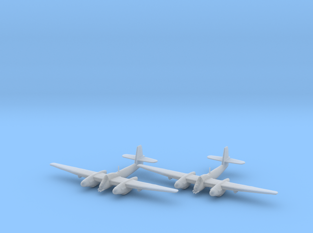 Westland Welkin with bombs 1:200 x2 FUD in Smooth Fine Detail Plastic