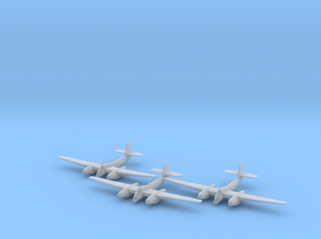Westland Welkin without bombs 1:200 x3 FUD in Smooth Fine Detail Plastic