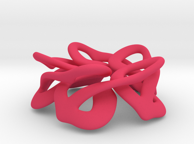 10 Found Hearts 3d printed