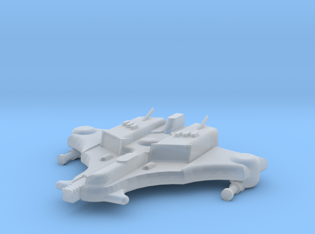 Space Commie Cuttlefish Interceptor in Smooth Fine Detail Plastic