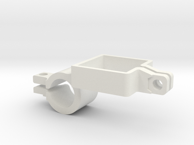 Camera Mount for Jamieson Hollowing Rig in White Natural Versatile Plastic