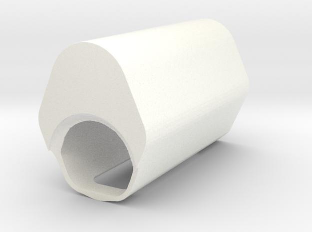 RX200 Hard Case in White Processed Versatile Plastic