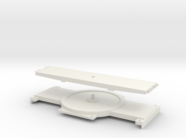 1:50 Turntable for SPMT (NZG) in White Strong & Flexible