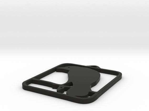 CEZ 3D Raven DYO Final Check in Black Natural Versatile Plastic
