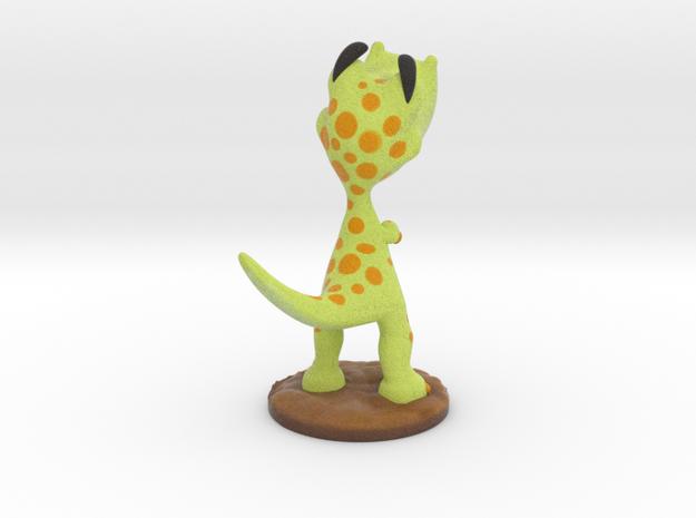 Poor T-Rex full-color miniature statue 3d printed