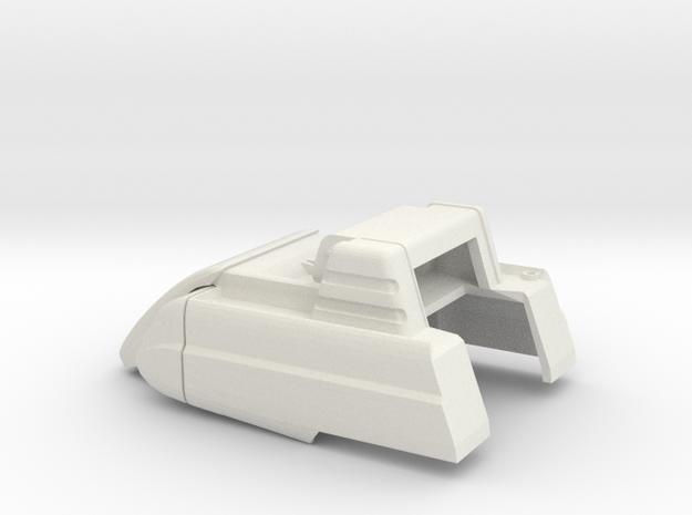 1/64 Modern Baler Upper Body in White Natural Versatile Plastic