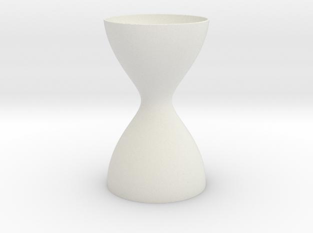 Fractal Grail in White Natural Versatile Plastic
