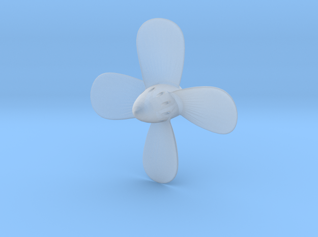 Titanic Propeller 4-Bladed Scale 1:144 in Smoothest Fine Detail Plastic