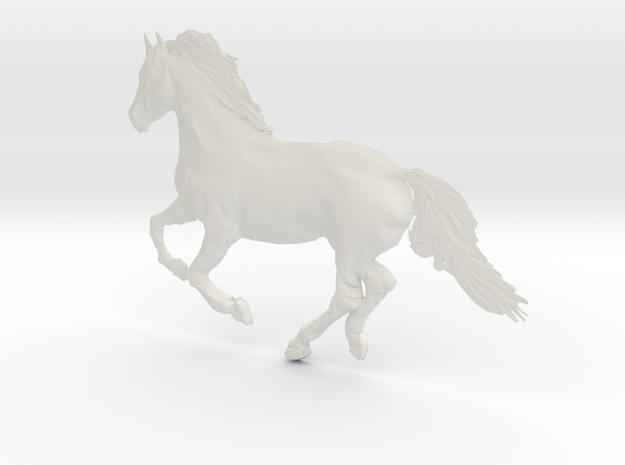 Panels, Running Horse in White Strong & Flexible