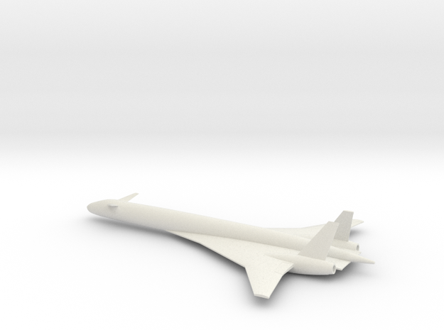 1/400 BOEING SONIC CRUISER in White Natural Versatile Plastic
