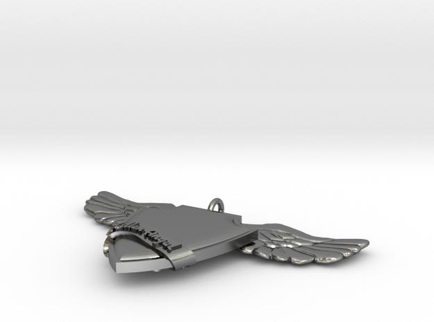 FallenAngel in Polished Silver