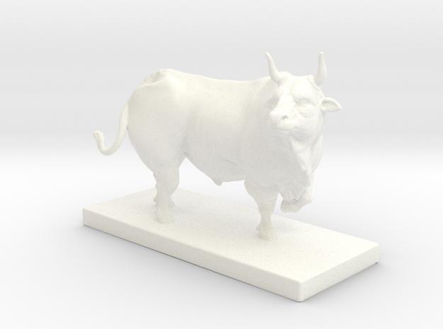 BullNEw in White Processed Versatile Plastic