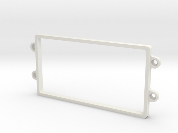 YZ4 Shorty Rack in White Strong & Flexible