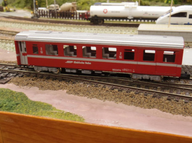 Passenger car type BD-2S in Frosted Ultra Detail